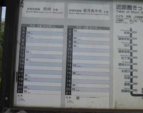 12西大山駅時刻表.jpg