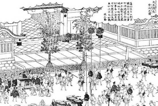 江戸名所図絵-元旦諸侯登城之図web.jpg