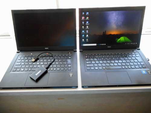 新旧Lavie-左が旧 SSD取り出し.jpg